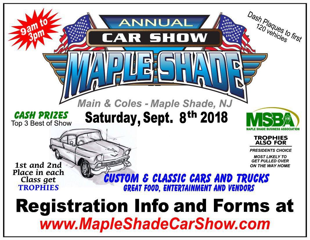 Annual Maple Shade Car Show